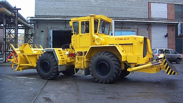 Фрезерно-роторный снегоочиститель «Кировец К-703МА-ОС»