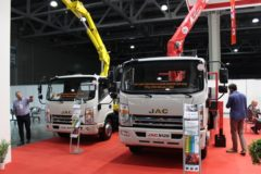 Компания JAC MOTORS подвела итоги участия в выставке Bauma CTT RUSSIA 2018