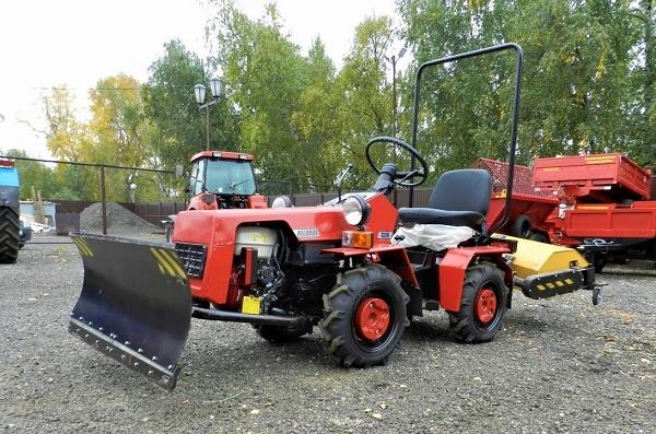 Мотоблок и мини-трактора