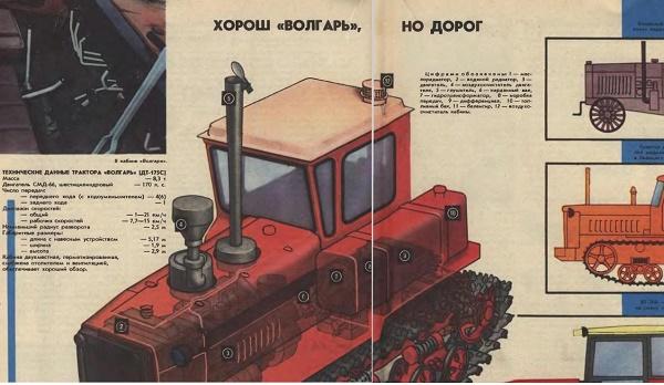 Отзывы о тракторах «Волгарь»