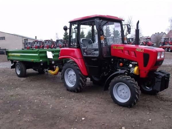 Навесное и прицепное оборудование для Беларус-422