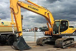 Экскаватор Hyundai R220LC 9S: технические характеристики