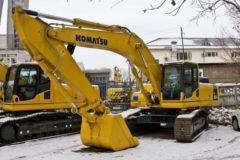 Komatsu PC300 технические характеристики