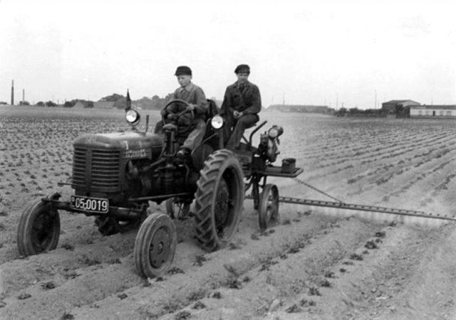 Двигатель трактора ХТЗ-7