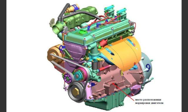 Конструкция двигателей ЗМЗ-405