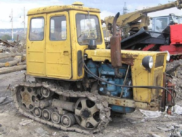 Двигатель трактора Т-54
