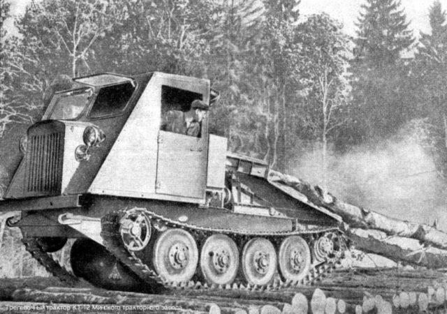 Об истории создания и производства трактора КТ-12
