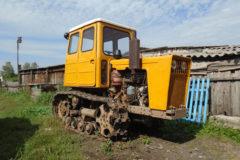 Трактор Т-54: технические характеристики