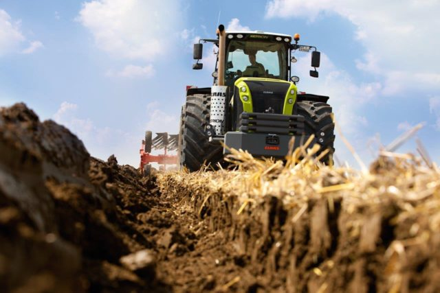 CLAAS: трактор XERION установил мировой рекорд