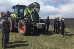 CLAAS изучает эффективность работы трактора AXION