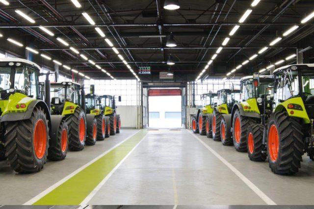 CLAAS: завершился четвертый проект модернизации завода в Ле-Мане