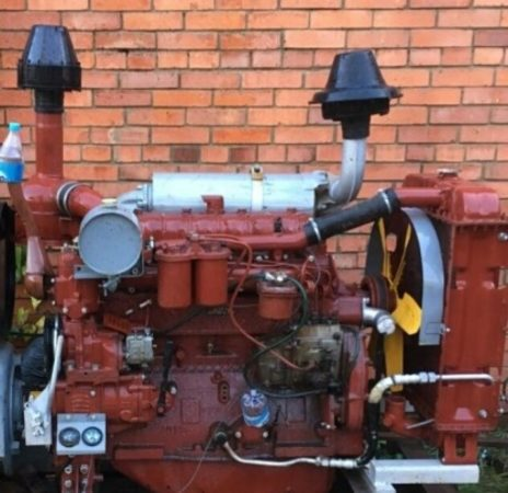 Система охлаждения дизеля А-41