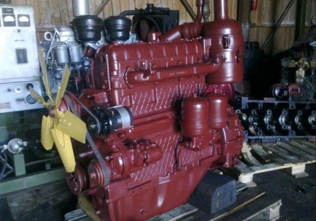Система питания дизельным топливом у двигателя А-41