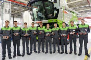 Завод «КЛААС»: первые выпускники-машиностроители