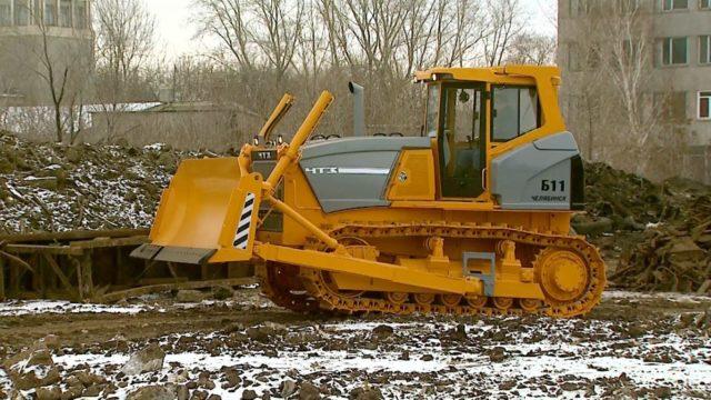Ходовая система трактора