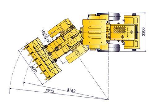 Ходовая часть XCMG LW300F