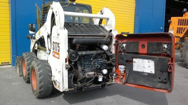 Двигатель мини-погрузчика Bobcat S175