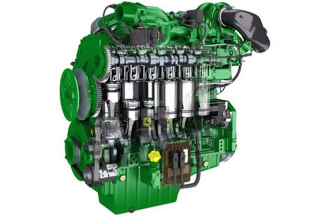 Двигатель трактора John Deere 6195M