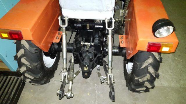 Гидравлическая навесная система мини-трактора