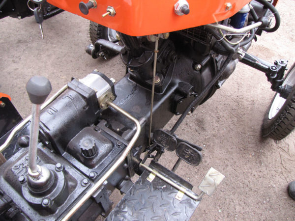 Трансмиссия мини-трактора