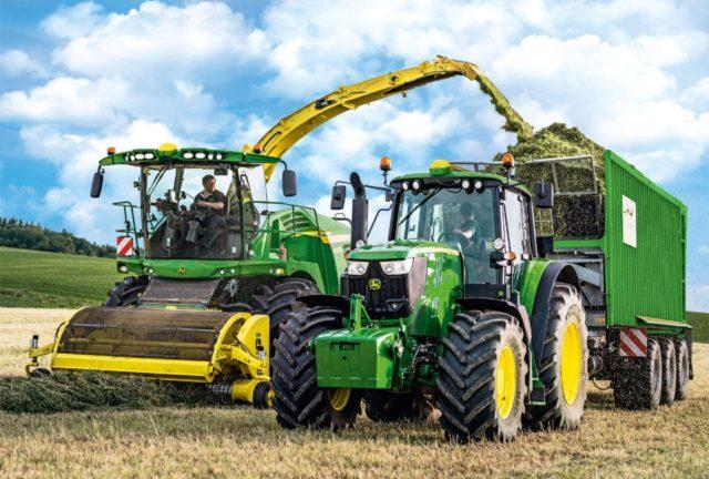 Варианты трансмиссий для трактора Джон Дир 6195M