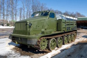 АТ-Т артиллерийский тягач-01