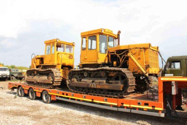 Общие особенности бульдозеров Б-170 и тракторов Т-170