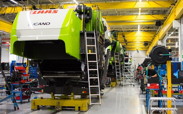 Завод «КЛААС» в Краснодаре увеличивает производственную программу