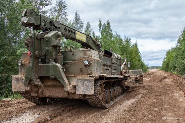 Рыхлительное оборудование путепрокладчика БАТ-2