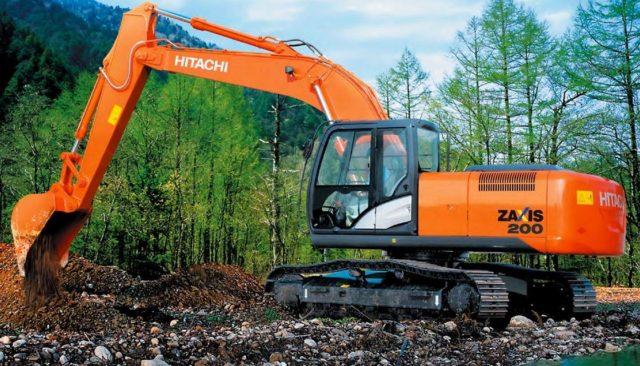 Отзывы о работе на экскаваторах Hitachi ZX 200
