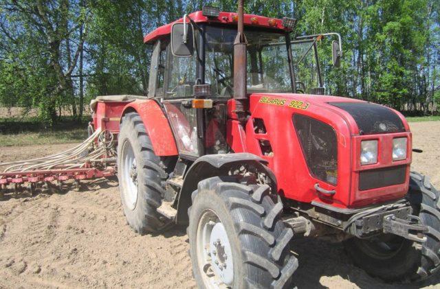 Конкретные сферы применения тракторов Беларус МТЗ-922