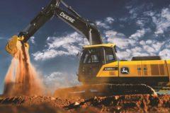 Новая линейка экскаваторов John Deere поможет повысить эффективность работ при меньшем расходе топлива